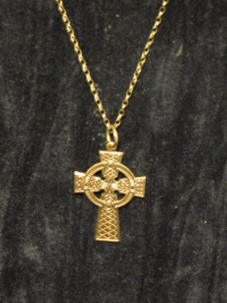 9ct. Gold Cross and Chain