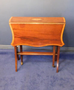 Edwardian Inlaid Mahogany Sutherland Table