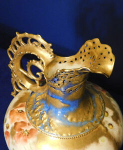 Victorian Nautilus Hand Painted Ewer