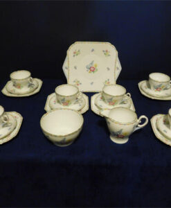 21 Piece Shelley Teaset