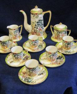 Hand Painted Noritake Coffee Set
