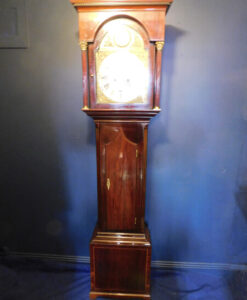 Georgian Mahogany Grandfather Clock
