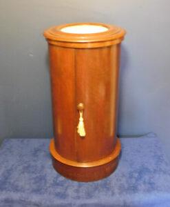 Victorian Mahogany Circular Pot Cupboard